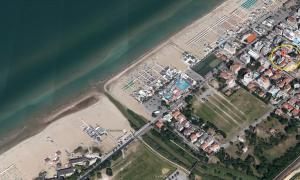Hotel Tritone veduta aerea google maps