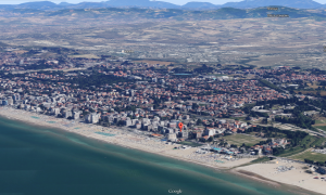 Hotel Tritone veduta aerea nord google maps